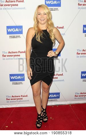 LOS ANGELES - JUN 11:  Alyssa Freyder at the Actors Fund's 21st Annual Tony Awards Viewing Party at the Skirball Cultural Center on June 11, 2017 in Los Angeles, CA