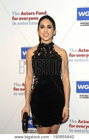 LOS ANGELES - JUN 11:  Gabrielle Ruiz at the Actors Fund's 21st Annual Tony Awards Viewing Party at the Skirball Cultural Center on June 11, 2017 in Los Angeles, CA