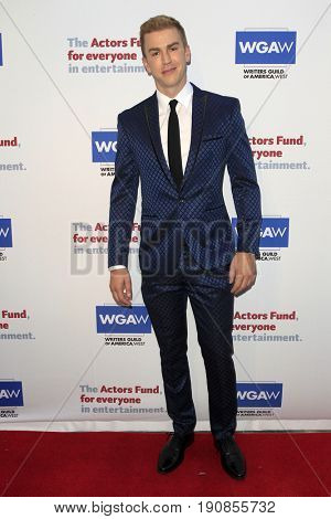 LOS ANGELES - JUN 11:  Spencer Day at the Actors Fund's 21st Annual Tony Awards Viewing Party at the Skirball Cultural Center on June 11, 2017 in Los Angeles, CA
