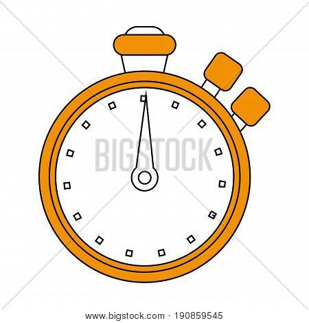chronometer flat illustration icon vector design graphic