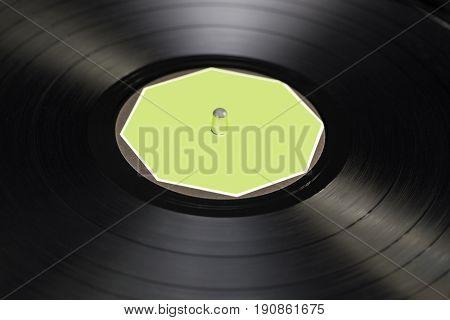Vinyl Disc Texture