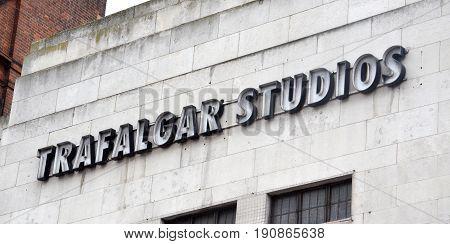 London Trafalgar Studios Logo