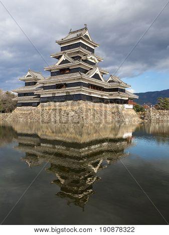 Matsumoto castle in SummerMatsumoto City Nagano Japan