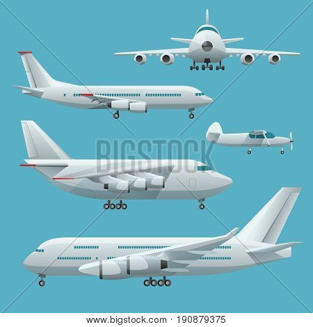 Aircraft, airplane, airliner passenger commercial, private business jet and cargo