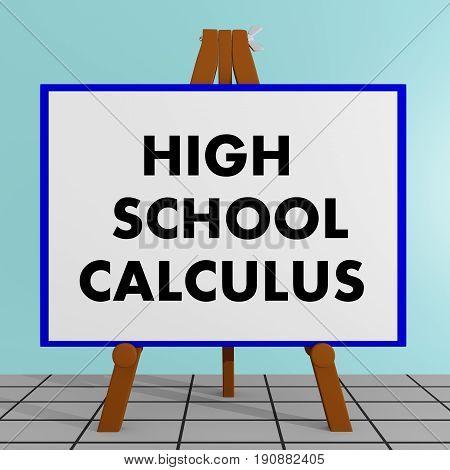 High School Calculus Concept