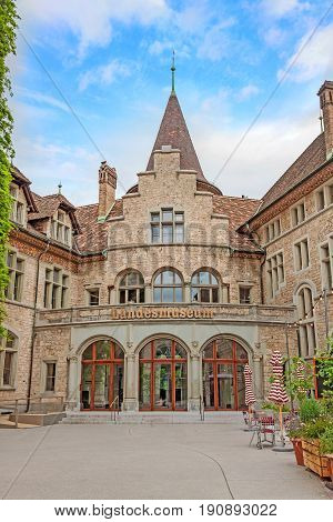 Swiss National Museum (landesmuseum) In Zurich, Switzerland