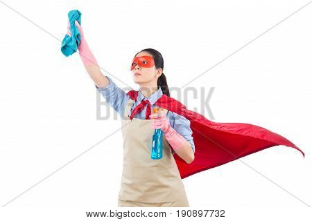 Ready Cleaning Superhero Fly Housewife