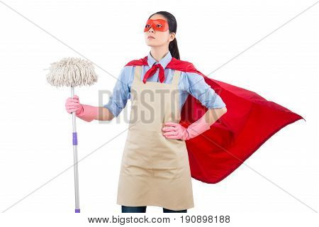 Spring Cleaning Superhero Housewife