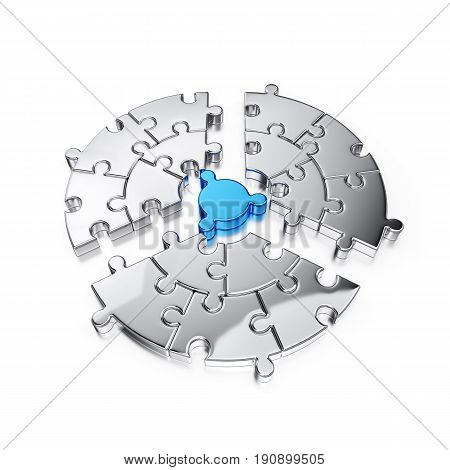 Puzzle Jigsaw Ring