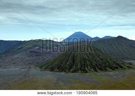Volcanoes of Bromo National Park, East Java, Indonesia