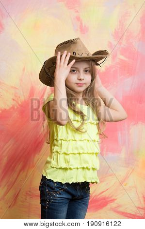 Childhood And Happiness, Farmer And Sheriff, Beauty And Fashion, Girl