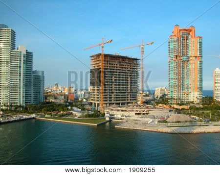 Florida Coast Construction Site