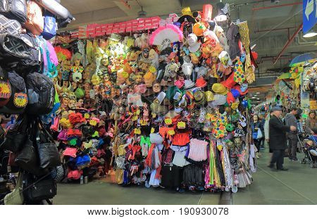 SYDNEY AUSTRALIA - JUNE 1, 2017: Unidentified people visit Paddys market in Chinatown.