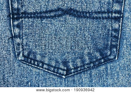 Jeans Background, Denim Jeans Background With Seam Of Jeans Fashion Design. Jean Texture With Seams.