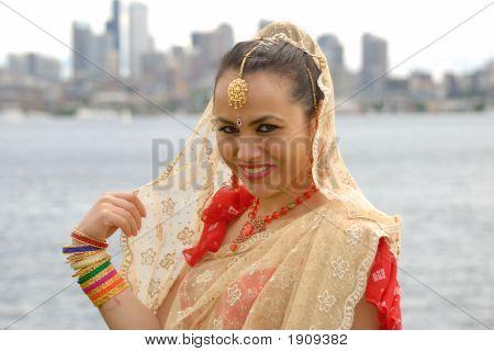 India Dressed Bride