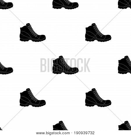 Grey men shoes oxfords. Casual shoes for autumn and spring .Different shoes single icon in black pattern vector symbol stock web illustration.