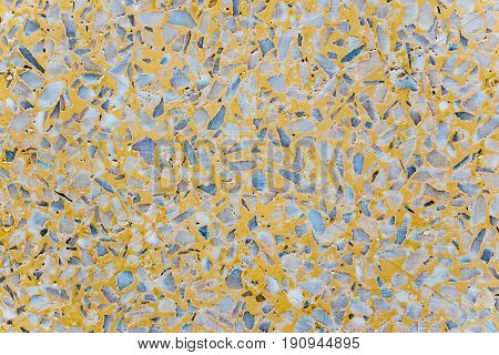 Texture of the marble remnants finish flooring