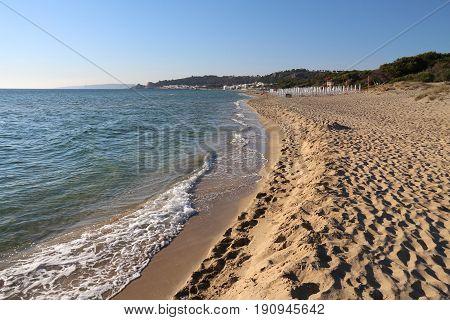 Beach In Salento, Italy