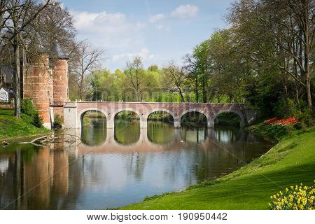 Groot-Bijgaarden - medieval castle in Brussels, Belgium