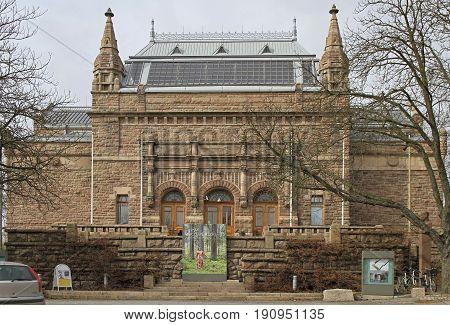 Museum Of Arts In Finnish City Turku