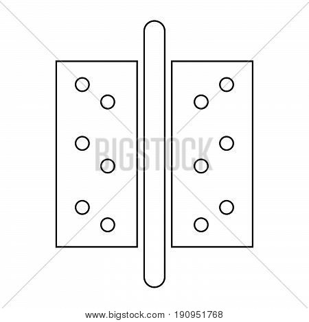 Accesories For Door   The Black Color Icon .