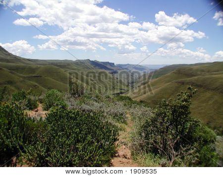 Above Sani Pass