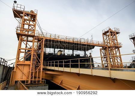 Railway Ramp For Industrial Ro-ro Ships Loading