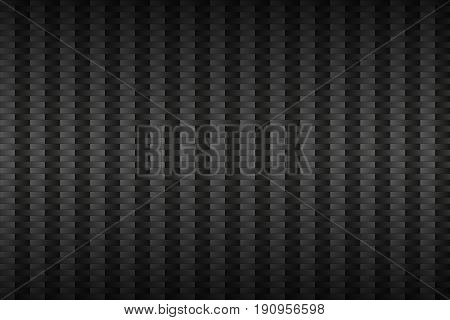 Abstract dark grey metallic background technology template carbon apperance vector illustration
