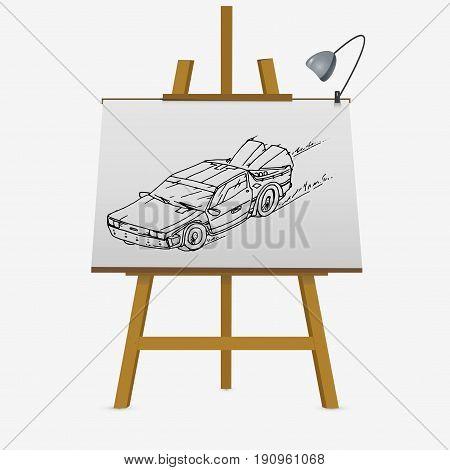Fast Racing Car