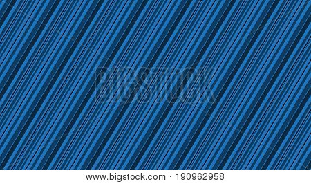 Blue background with different dark lines blue stripes vector illustration