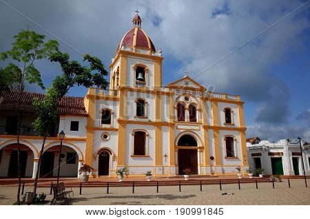 Church of the Holy Conception in Mompox Colombia