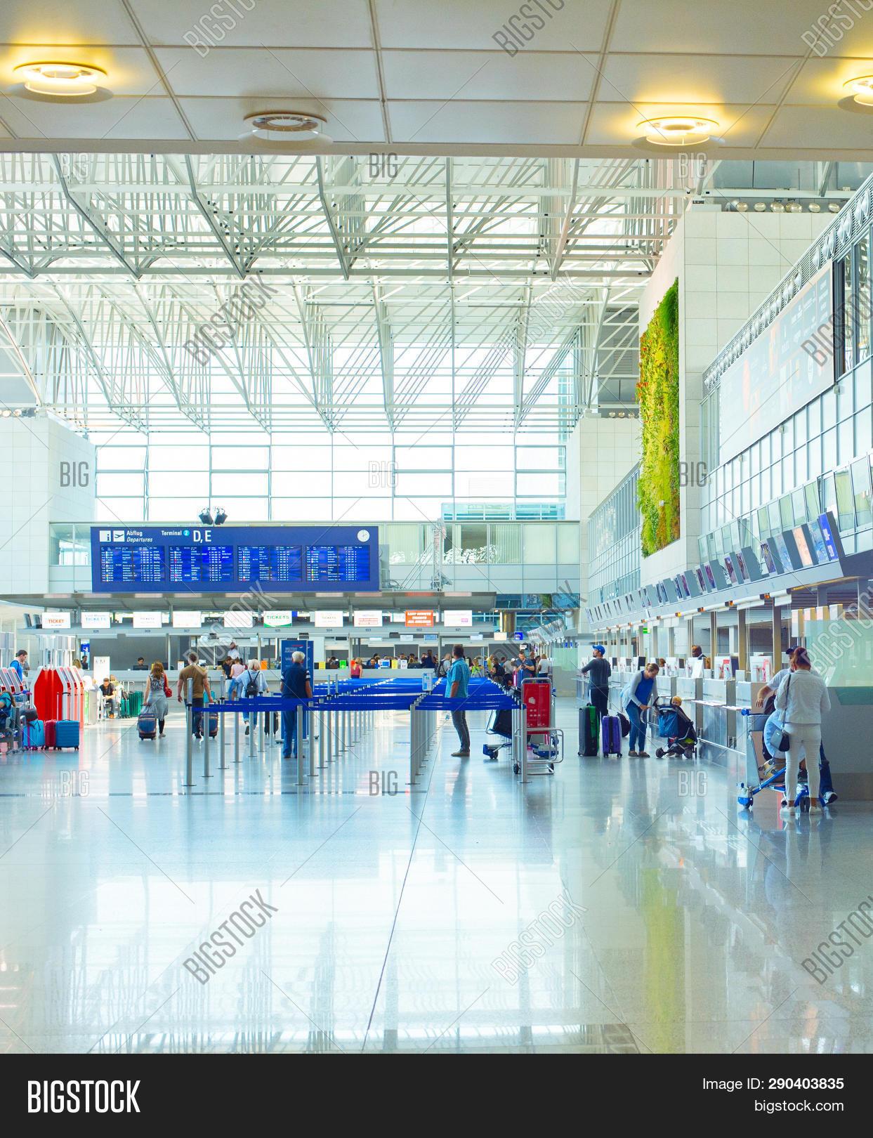 Frankfurt airport abflug