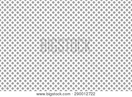 Seamless Polyester Fabric Texture. Athletics Cloth Grid Material, Nylon Mesh Sport Clothing Textile