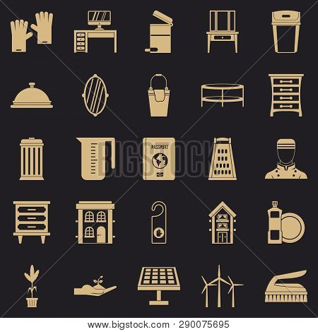 Refinement Icons Set. Simple Set Of 25 Refinement Vector Icons For Web For Any Design