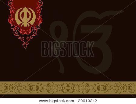 Ek Onkar, Khanda the holy motif