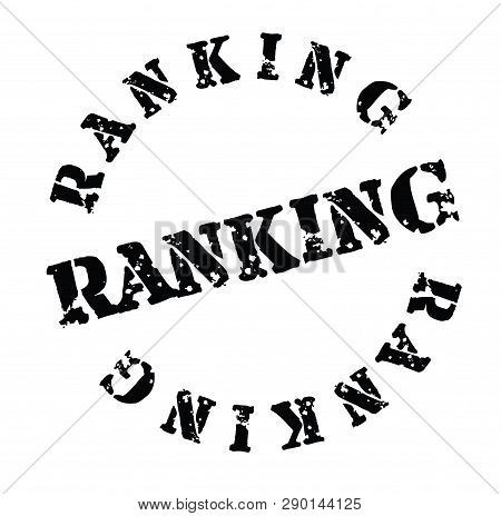 Ranking Stamp On White Background . Label Sticker
