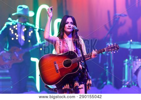 HUNTINGTON, NY-JUL 18: Musician Kacey Musgraves performs in concert at the Paramount on July 18, 2015 in Huntington, New York.