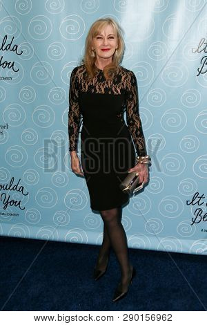 NEW YORK-APR 14: Actress Caroline Lagerfelt attends the Broadway opening night for 'It Shoulda Been You' at Brooks Atkinson Theatre on April 14, 2015 in New York City.