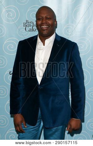 NEW YORK-APR 14: Actor Tituss Burgess attends the Broadway opening night for 'It Shoulda Been You' at Brooks Atkinson Theatre on April 14, 2015 in New York City.
