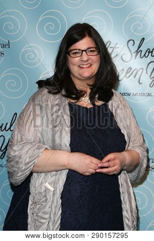 NEW YORK-APR 14: Music director Barbara Anselmi attends the Broadway opening night for 'It Shoulda Been You' at The Edison Ballroom on April 14, 2015 in New York City.