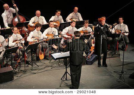 Josipa Lisac concert with Croatian radio and television tamburitza orchestra  in Kerempuh 30.10.2006