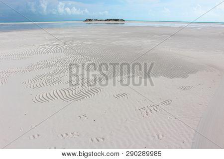 A Caribbean Beach, Sandy Cay, Exumas, Bahamas