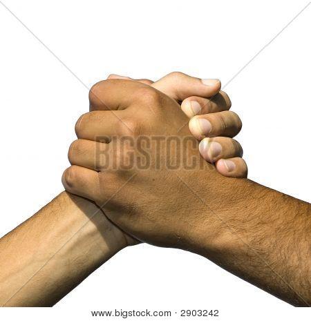 Symbol der Freundschaft und des Friedens