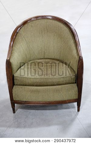 chair. chair isolated. room for text