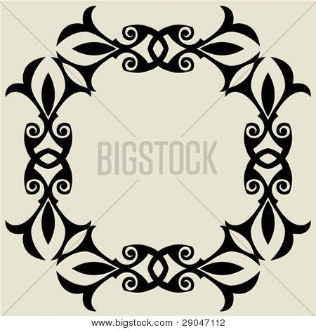 ornate frame decoration