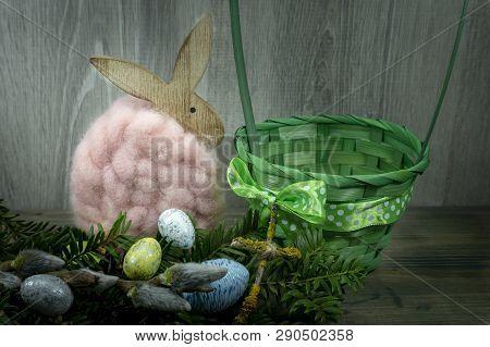 Easter Still Life Or Card Design