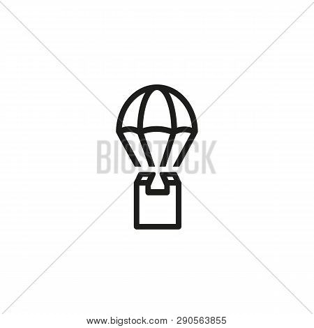 Air Delivery Line Vector & Photo (Free Trial) | Bigstock