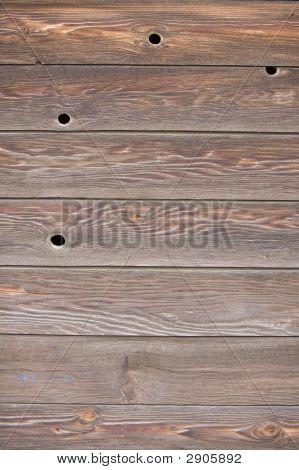 Wood Grain And Knots