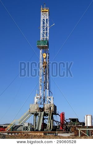 Natural Gas Exploration Drilling Rig