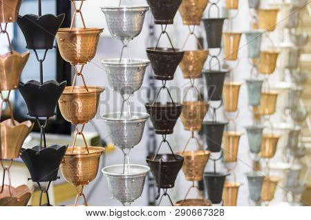 Many Kind Of Asian Traditional Colorful Rain Chain Hanging - Handicraft Product